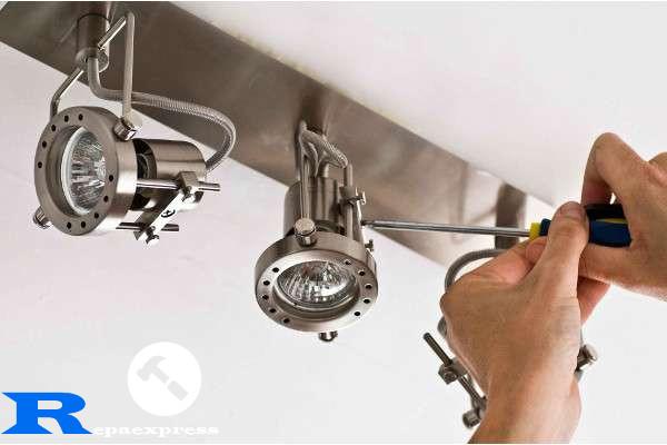 electricistas lamparas